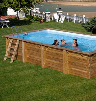 Piscine bois sunbay filtration accessoires prix mini for Accessoire piscine 84