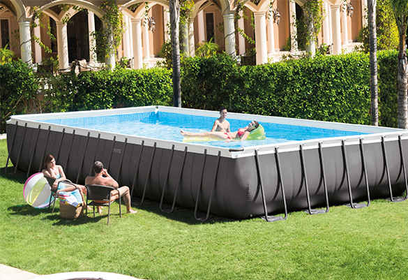 piscine tubulaire ultra silver rectangulaire 9 75 x 4 88 x