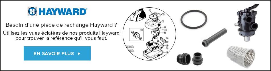 Bannière pièces détachées Hayward