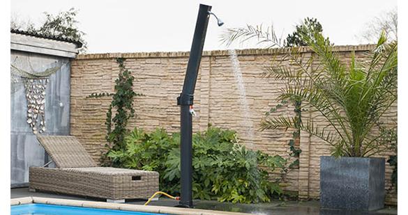 douche solaire pour piscine solaris plus 23l. Black Bedroom Furniture Sets. Home Design Ideas