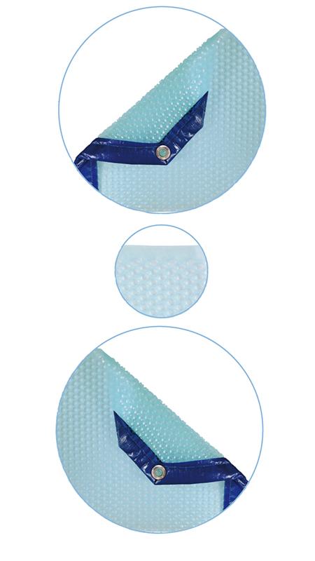 B che bulles piscine sur mesure duolis 400 microns albon for Bache a bulle sur mesure pour piscine