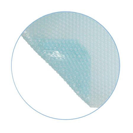 B che bulles piscine sur mesure basic 400 microns sans for Bache a bulle sur mesure pour piscine