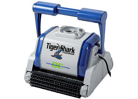 robot piscine tiger shark qc hayward brosses picots chariot option. Black Bedroom Furniture Sets. Home Design Ideas