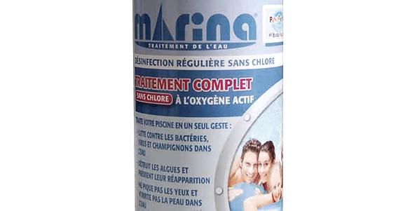 Traitement complet pour petite piscine l 39 oxyg ne actif - Traitement piscine oxygene actif ...