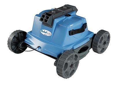 Robot piscine lectrique robotclean 1 ubbink for Robot pour piscine ronde