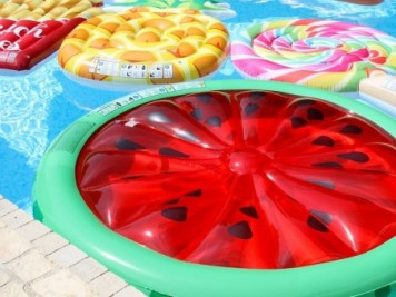 Matelas de piscine Glace à l'Italienne - Intex