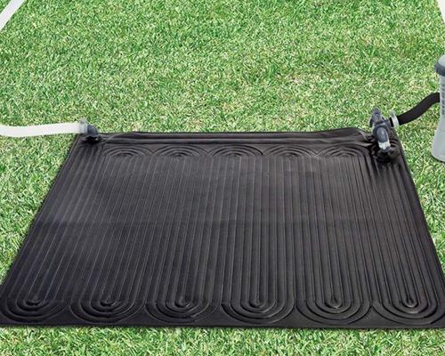 Chauffage bassin exterieur fabulous avec son bloc moteur for Tapis solaire piscine