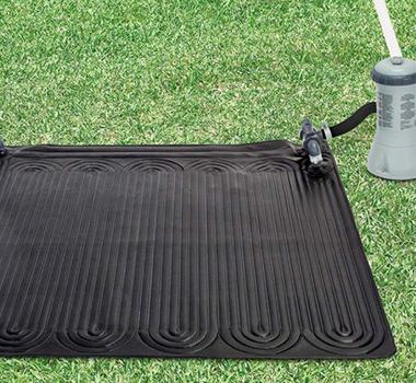 Chauffage solaire piscine d mes et tapis solaires prix for Chauffer piscine naturelle