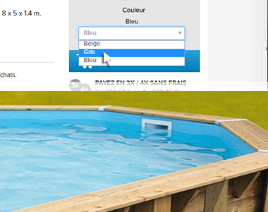 liner piscine hors sol intex et ubbink prix mini. Black Bedroom Furniture Sets. Home Design Ideas