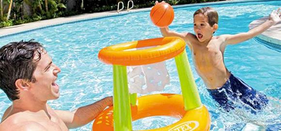 jeux de piscine intex prix mini chevauchables volley water polo. Black Bedroom Furniture Sets. Home Design Ideas