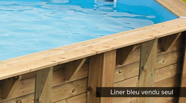 liner piscine bois ubbink azura oc a linea petit prix. Black Bedroom Furniture Sets. Home Design Ideas