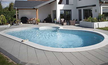 Piscine enterr e en kit indrapool albig s monter soi m me - Piscine enterree en kit ...