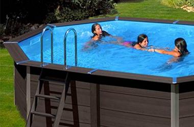 piscine bois composite gr r sistantes cologiques. Black Bedroom Furniture Sets. Home Design Ideas