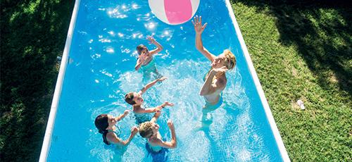 piscine hors sol intex gr filtration et accessoires pas cher. Black Bedroom Furniture Sets. Home Design Ideas