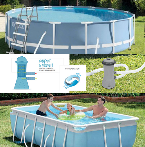 Branchement pompe piscine hors sol intex elegant for Robot de piscine hors sol