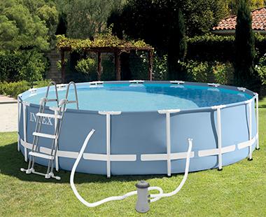 piscine tubulaire intex ronde prix mini cadeaux. Black Bedroom Furniture Sets. Home Design Ideas