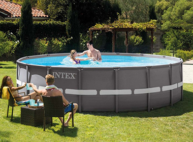 piscine tubulaire intex ronde prix mini cadeaux. Black Bedroom Furniture Sets. Home Design Ideas