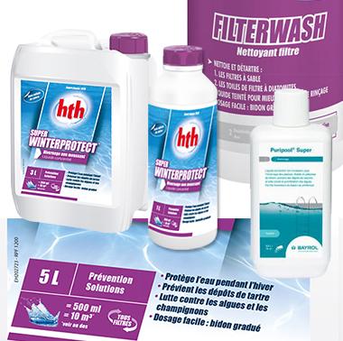 produit d 39 hivernage pour piscine bayrol et hth