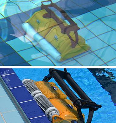 robot nettoyeur piscine best manomano water clip robot de piscine nettoyeur with robot. Black Bedroom Furniture Sets. Home Design Ideas