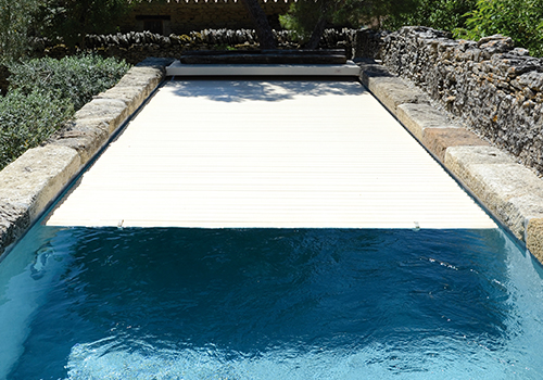 Volet Immerge Moteur Tubulaire Afc Pool Success 8 X 4 M