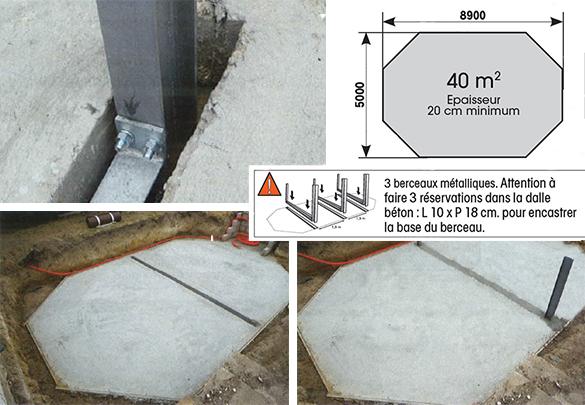 Piscine bois octogonale oc a 8 6 x 4 7 m ubbink for Pose liner piscine bois octogonale