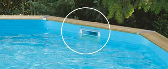 Skimmer piscine hors sol top skimmer de surface with for Aspirateur piscine skimmer