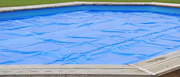 B che bulles pour piscine bois sunbay ronde taille au choix for Bache piscine sunbay
