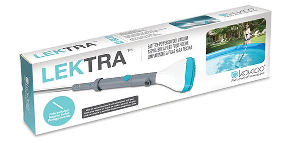 Aspirateur batterie pour piscine kokido mod le lektra vac for Aspirateur piscine sans filtration