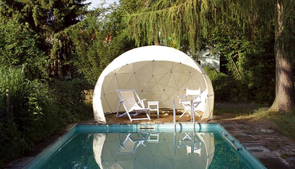abri de jardin garden igloo 10 m pour piscine spas couvertures en option. Black Bedroom Furniture Sets. Home Design Ideas
