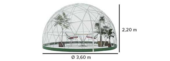 Abri de jardin garden igloo hiver - Abri jardin grande taille ...