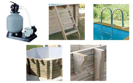 Piscine Bois Ubbink Sunwater 3 X 4 9 X 1 2 M Filtration