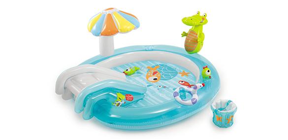 Air De Jeux Gonflables Pour Enfant : Aire de jeux gonflable piscine alligator intex à prix mini
