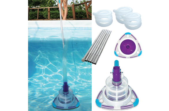 Aspirateur de piscine manuel v trap kokido for Aspirateur piscine robby