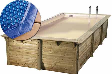 b che bulles pour piscine bois ubbink mod le sunwater. Black Bedroom Furniture Sets. Home Design Ideas