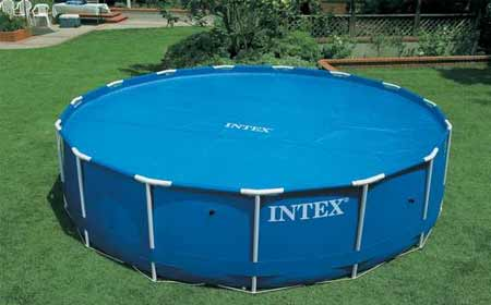 B che bulles pour piscine intex ronde autoport e et for Piscines autoportees