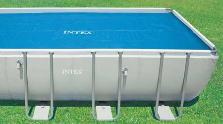 Bache A Bulles Pour Piscine Tubulaire Intex With Bache A Bulle Piscine Sur  Mesure