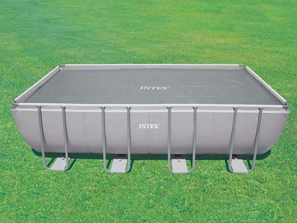 b che bulles intex renforc e pour piscines tubulaires rectangulaires. Black Bedroom Furniture Sets. Home Design Ideas