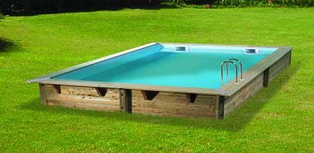 b che hiver pour piscine bois ubbink mod les lin a pas cher. Black Bedroom Furniture Sets. Home Design Ideas