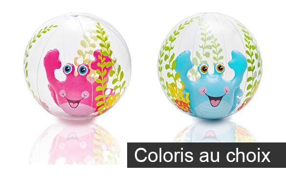 ballon gonflable intex mod le aquarium pour piscine et plage 61 cm. Black Bedroom Furniture Sets. Home Design Ideas