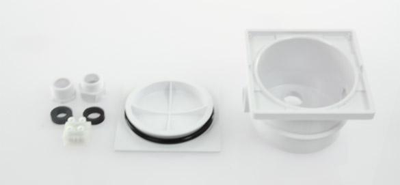 Bo te de connexion pour projecteur piscine liner for Presse etoupe projecteur piscine