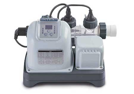 Cellule pour lectrolyseur au sel intex pour piscines hors sol for Sterilisateur au sel pour piscine hors sol