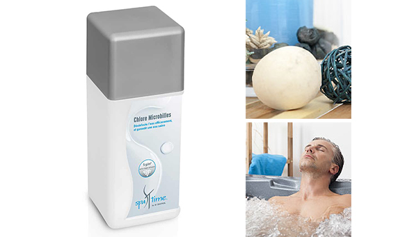 chlore microbilles pour spa gamme spatime