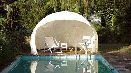 abri de jardin garden igloo 10 m pour piscine et spa. Black Bedroom Furniture Sets. Home Design Ideas