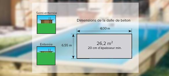 Piscine Bois Sunwater 3 X 5 55 X 1 4 M Filtration Et Accessoires