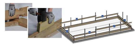 piscine bois sunbay mod le marbella 4 x 2 5 x 1 19 m filtration. Black Bedroom Furniture Sets. Home Design Ideas