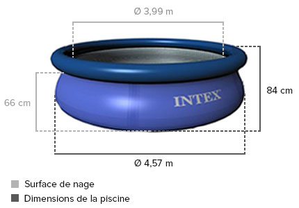 dimensions piscine intex 28158