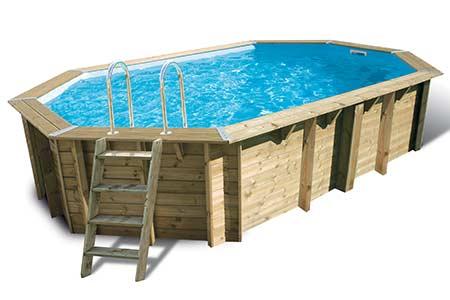 piscine bois 9m