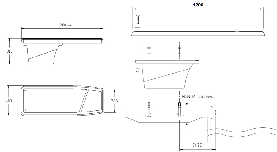 plongeoir pour piscine dynamic astral. Black Bedroom Furniture Sets. Home Design Ideas