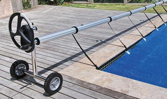 B che bulles piscine sur mesure uno 500 microns for Fabrication enrouleur bache piscine