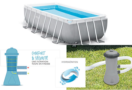 epurateur intex pour piscine systeme hydroaeration